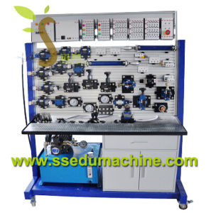 Electro Hydraulic Training Workbench with PLC Teaching Aids pictures & photos
