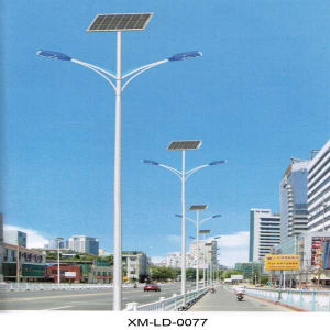 Customized Design with Factory Price Double 40W Solar Street Lighting pictures & photos