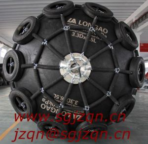 Ribbed Floating Pneumatic Marine Rubber Fenders pictures & photos