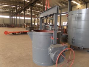 Manual and Electric Control Ladle; Casting Ladle Manufacturer pictures & photos