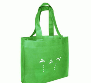 Die Cut Non-Woven Printed Shopping Bags for Garments (FLN-9015) pictures & photos