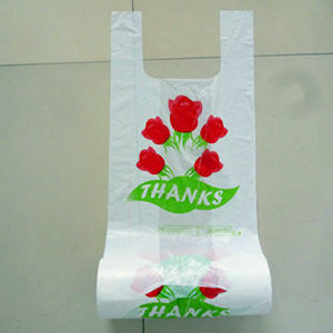 Best Selling PE T-Shirt Plastic Bag with High Quality
