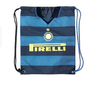 Newest Fashion Cheaper Polyester Drawstring Backpack Bag Drawstring Bags pictures & photos