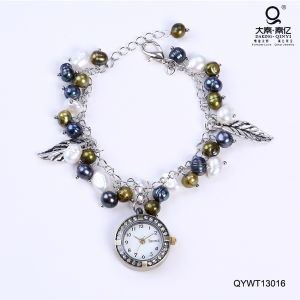 Waterproof Fashionable Watches Freshwater Pearl Watch pictures & photos