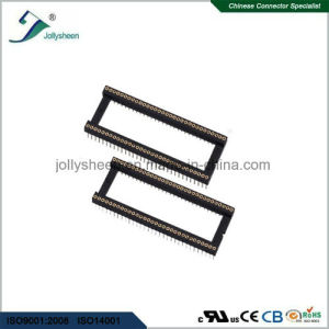 IC Socket Pitch 1.778mm Round Pin L7.4mm 180deg Straight Type Without Bar pictures & photos