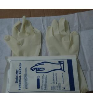 Disposable Medical Powder and Powder Free Latex Surgical Gloves (SC-GV002) pictures & photos