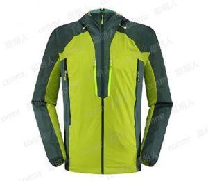 Waterproof and Breathable Ski Jacket (QF-6093) pictures & photos