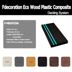 Phosphor Strip Outdoor WPC Composite Decking