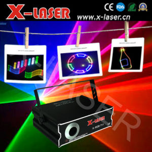 Ilda &SD Card 2d/3D Change 1W RGB DJ Light pictures & photos