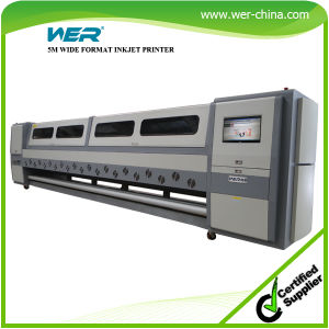 Seiko Spt510 Head with 1440dpi 5m Banner and PVC Large Format Printing Machine pictures & photos