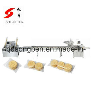 Auto Packaging Machine for Sandwich Biscuit pictures & photos