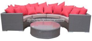 Garden Furniture Outdoor Wicker Rattan Patio Sofa Set (PAS-099.2)