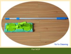Microfiber Flat Mop with Telescopic Alumunim Pole (YYFM-33) pictures & photos