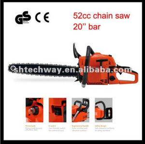 Twcsq5220A Professional 52cc Gasoline Chain Saw pictures & photos