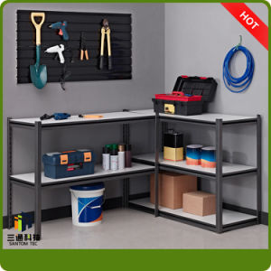 Garage Tool Rack, Furniture Style Rivet Shelf, Garage Steel Shelf pictures & photos