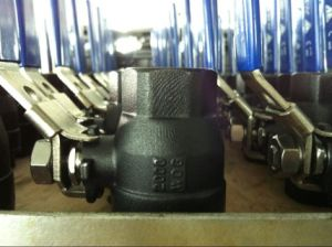 3PC Carbon Steel Ball Valve 1000wog pictures & photos