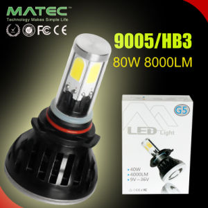 Car Accessories COB Headlight H1 H4 H7 H11 9005 9006 LED Auto Parts 12V/24V pictures & photos