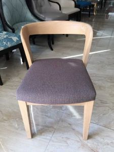 Foshan Hotel Furniture/Restaurant Chair/Foshan Hotel Chair/Solid Wood Frame Chair/Dining Chair (NCHC-005) pictures & photos