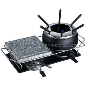 New Style Fondue Stone Grill 2-in-1 (BC-J4S1)