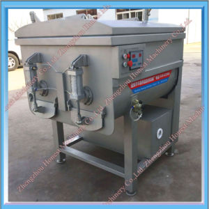 Vacuum Double Shaft Meat Processing Mixer pictures & photos