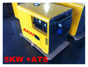 5kw Silent Generator with ATS HOT SALE ! KAIAO Generator pictures & photos