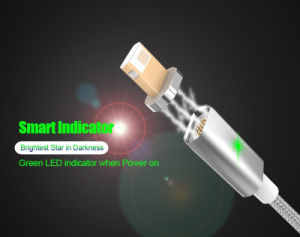 Magnetic USB Cable 2 in 1 Android/Lightning Fast Charging + Data Transmission pictures & photos