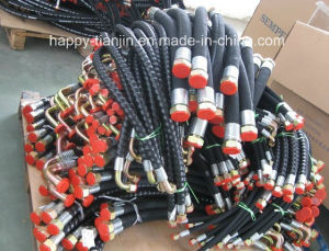 Super Flexible Hydraulic Rubber Oil Hose Assembly pictures & photos