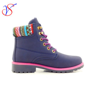 2016 New Style Injection Man Women Work Boots Shoes for Job with Quick Release (SVWK-1609-022 BLUE) pictures & photos