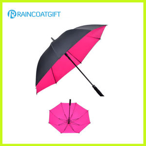 Automatic Opening Outdoor Straight Advertising Golf Umbrella pictures & photos