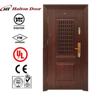 Security Steel Door for Entrance Building Project