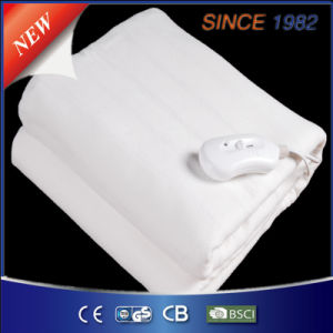 Pure White Polyester Electric Under Blanket for Warming pictures & photos