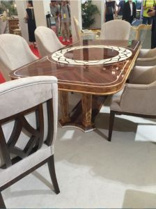 European Style Table and Chair/Luxury Middle East Style Restaurant Furniture/Hotel Furniture/Dining Room Furniture (GLPLD-039) pictures & photos