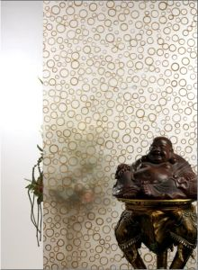 Resin Panel Clip Bamboo Rings Lampshade (ZR-1020-B) pictures & photos