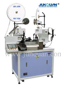 Two Ends Automatic Terminal Crimping Machine (JQ-1) pictures & photos