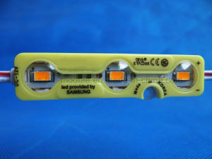 New5730 3LED Injection LED Module Yellow Highlight DC12V pictures & photos