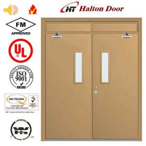 High Quality Steel Fire Door/Fireproofing Steel Door/UL Certified with Vision Glass/Fireproof Door