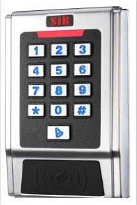 New Metal Keypad Access Controller with Two Relays and Anti-Passback pictures & photos