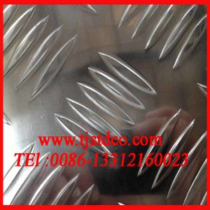 1060 6061 Aluminium Checkered Plate Supplier pictures & photos