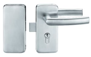 Glass Door Handle Lock Made of Stainless Steel pictures & photos