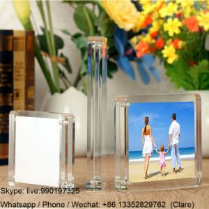 Square Clear Home Decoration Photo Frames Acrylic pictures & photos