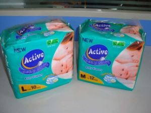 Hot Welcomed, Soft, Disposable and Breathable Baby Diaper pictures & photos