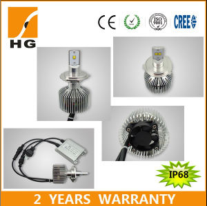 Superbright H4 LED 35W Philips LEDs Headlight Bulb pictures & photos