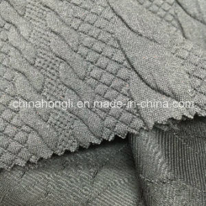 Solid Jacquard P/Sp 95/5, 355GSM, Knitting Fabric for Women′s Wear pictures & photos