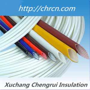 Insulation Material 2751 Silicone Rubber Fiberglass Sleeving pictures & photos