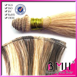 Super Quality Remy Peruvian Human Hair, Handtied Hair in Stock