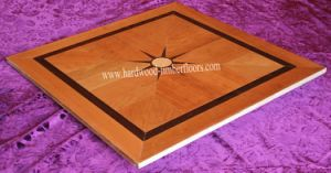 American Red Cherry Wenge Art Parquet Wood Flooring pictures & photos