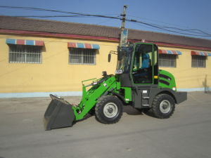 Wl100 FL910 Ctx910 Mini Tractor Wheel Loader with Pallet Fork 4in1 Bucket pictures & photos