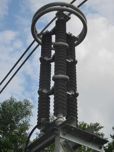 Surge Arrester, Lightning Arrester 3-252kv Series pictures & photos