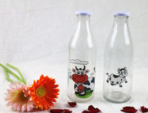 250ml 500ml 1L Beverage Juice Milk Water Glass Bottle pictures & photos