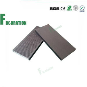 Wood Plastic Composite Deck Board WPC Outdoor Solid Flooring Decking pictures & photos